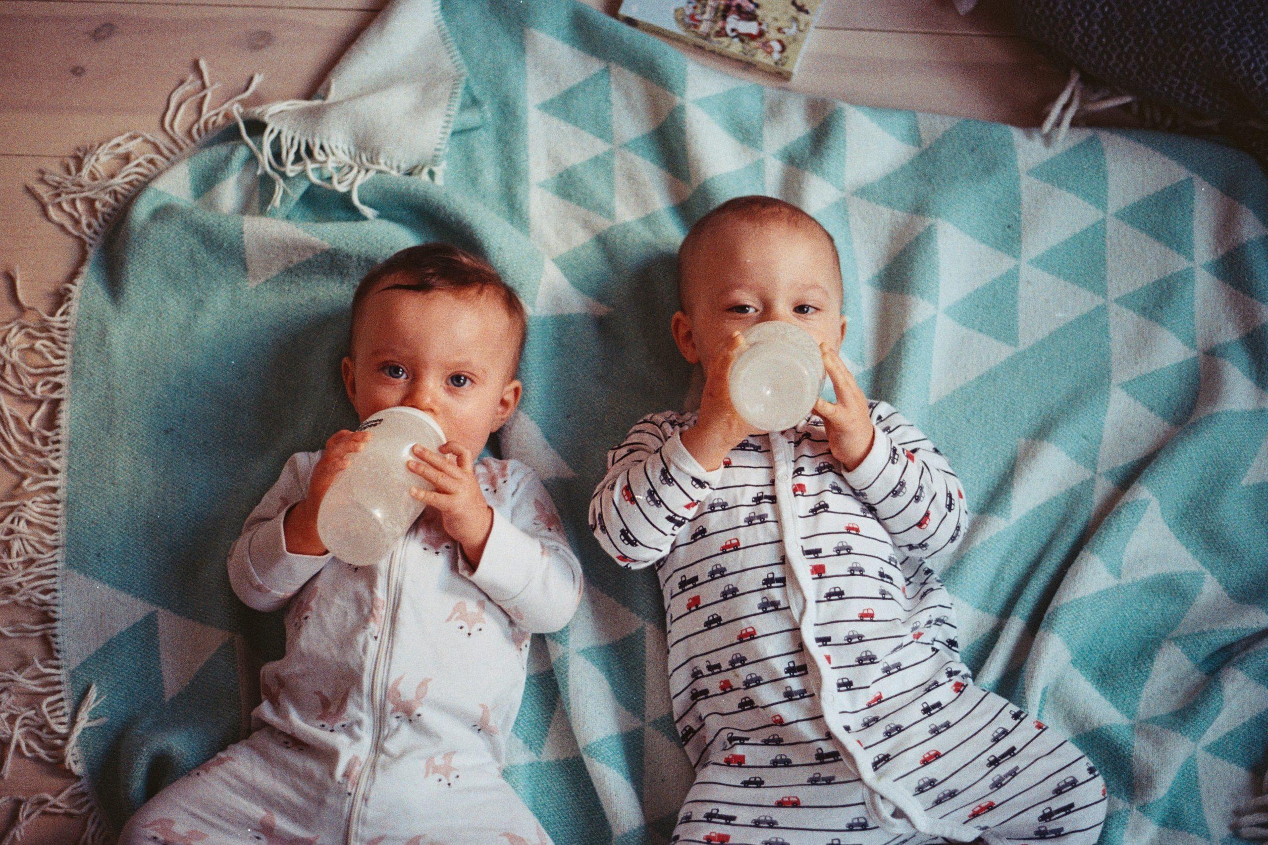 Le matériel pour les jumeaux